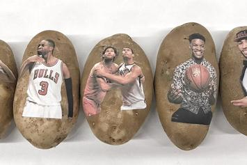 Company Sends 150 Personalized Potatoes To NBA Players Across The League