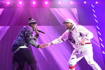 """50 Cent Drops Out Of Chris Brown's """"The Party"""" Tour"""