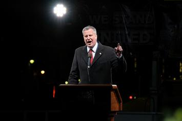 New York Mayor Bill De Blasio Announces Plan To Close Rikers Island
