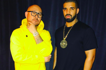 Drake Receives Icy New OVO Chain From Ben Baller