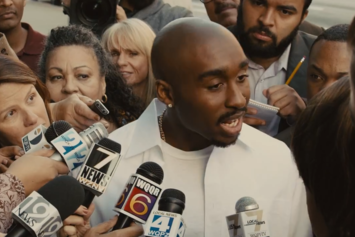 "Watch The New Trailer For Tupac Biopic ""All Eyez On Me"""
