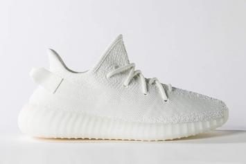 """Cream White"" Adidas Yeezy Boost 350 V2 Releasing In Sizes For The Whole Fam"