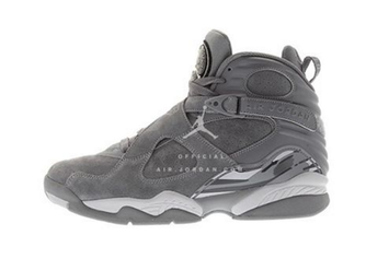 """""""Cool Grey"""" Air Jordan 8 First Images Revealed"""