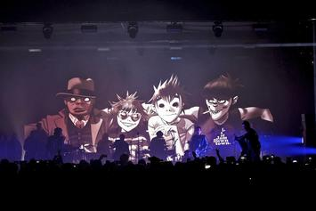 "Gorillaz Announce ""Humanz"" North American Tour"