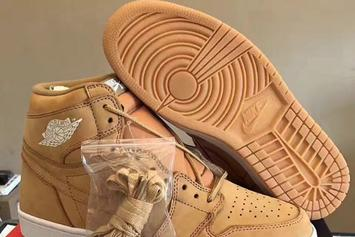 """Wheat"" Air Jordan 1 First Look, Rumored Release Info"