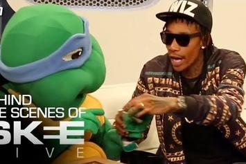 Wiz Khalifa Chills with Ninja Turtle and Defines Blacc Hollywood!