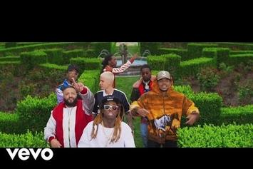 "DJ Khaled Feat. Justin Bieber, Quavo, Chance The Rapper, Lil Wayne ""I'm The One"" Video"