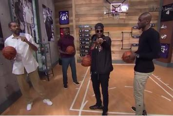 "Watch 2 Chainz Post Up Kevin Garnett In ""Area 21"""