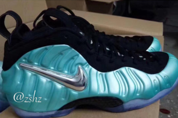 """Island Green"" Nike Air Foamposite Pro Set To Release This Summer"