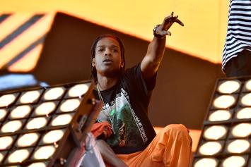 "A$AP Rocky Performs ""Please Don't Touch My Raf,"" Brings Out XXXTENTACION At Rolling Loud"