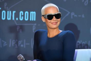 Amber Rose & French Montana Hang On Mother's Day