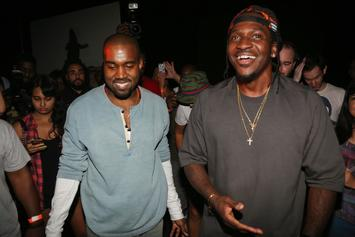 Pusha T Has Helped Inspire Kanye West To Write During Wyoming Sessions: Report