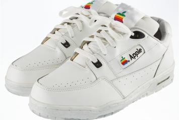 These Apple Shoes Are Expected To Sell For Over $24,000 At Auction