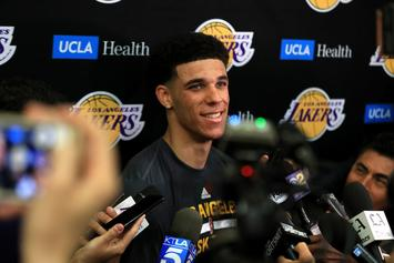 "Lonzo Ball Says Lakers ""Need A Leader At Point Guard"""
