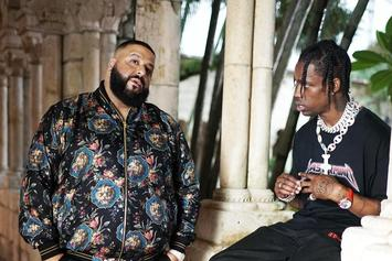 "DJ Khaled Says Travis Scott Is Featured On Four Records Off ""Grateful"""