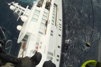 That's Crazy: Greek Coast Guard Rescues Sinking Yacht And Uses GoPro To Capture It All!!