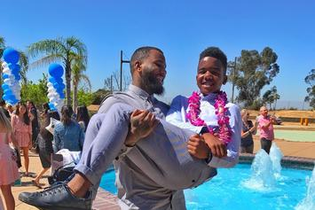 "The Game Celebrates Son's Graduation; Recreates ""The Graduation"" Artwork"