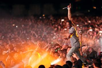 Travis Scott Freestyles About New Album During Concert