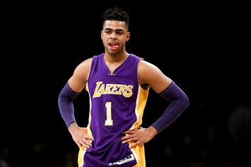 NBA Twitter Reacts To D'Angelo Russell Trade