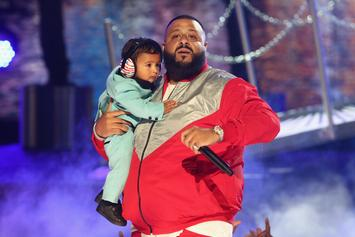 DJ Khaled Brings Out Chance The Rapper, Lil Wayne, Quavo & Asahd At BET Awards