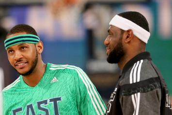 """Cavaliers """"Leading Contenders"""" To Sign Carmelo Anthony If Knicks Buyout"""