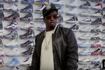 Watch Diddy Go Sneaker Shopping At Stadium Goods In NYC