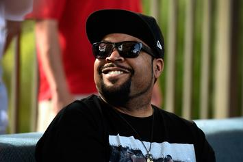 "Watch Ice Cube Sing ""Take Me Out To The Ballgame"" At Cubs Game"