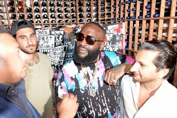 "Rick Ross Flirts With Angela Yee, Gets His Beard Picked On ""The Breakfast Club"""