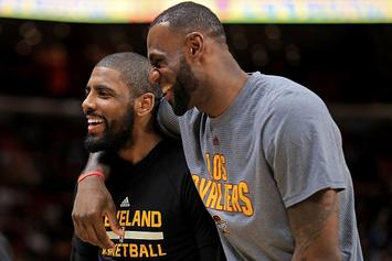 Kyrie Irving Believes LeBron James Leaked Trade Request To Media