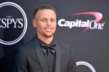 """Steph Curry Says He Wasn't """"Clowning"""" LeBron James"""