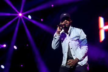 Bryson Tiller Brings Out Blac Youngsta During Concert