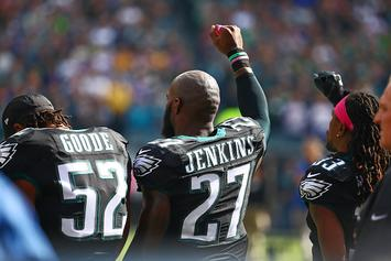 Malcolm Jenkins Says He'll Continue To Raise Fist During National Anthem