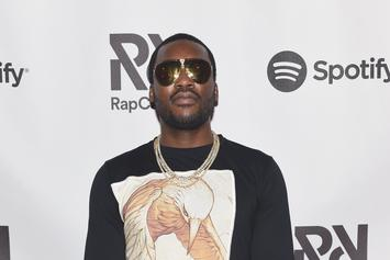 Meek Mill Previews Studio Session With His Son