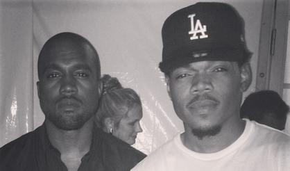 """Chance The Rapper Sends """"Special Prayer"""" To Kanye West"""