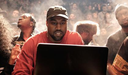Kanye West Reportedly Recording New Music At His Bel-Air Mansion