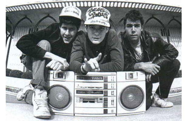 Graffiti and a boombox. The Beastie Boys had a style that blended punk with hip-hop