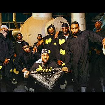 Wu-Tang Clan was so awesome, their logo because its own fashion statement