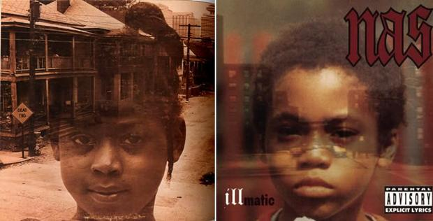 Illmatic's cover art was inspired by this old Jazz album art.