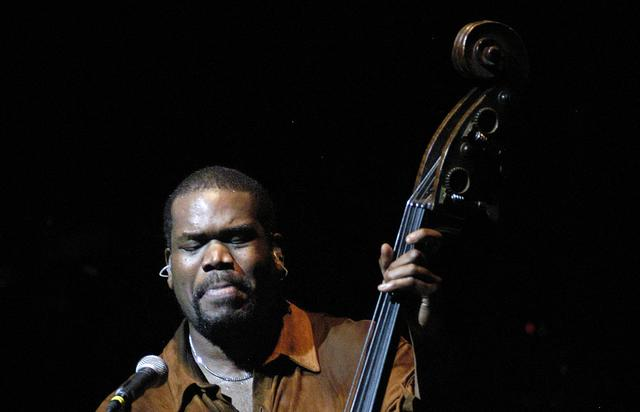 Bassist Leonard 'Hub' Hubbard of The Roots performs during a benefit concert for Hurricane Katrina relief at the Kimmel Center September 16, 2005 in Philadelphia, Pennsylvania. As part of the Kimmel Center's hurricane relief efforts this week, The Roots will be donating their entire performance fee to the NAACP's hurricane relief efforts on behalf of HurricaneHousing.org. Over 30,000 Katrina evacuees have been housed so far through the www.HurricaneHousing.org website. Over 250,000 free beds have been offered nationwide.