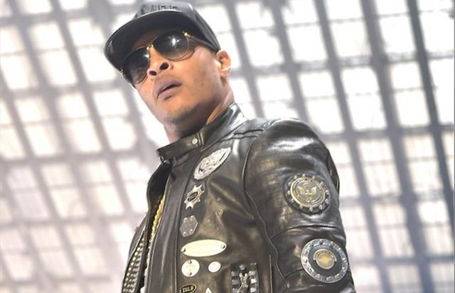 T.I. on stage for TIDAL