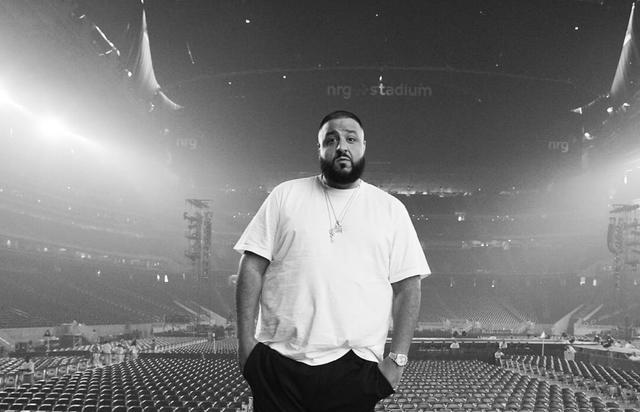 """DJ Khaled before the """"Formation"""" show in Houston."""