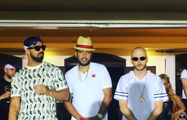 Drake & French Montana in DR