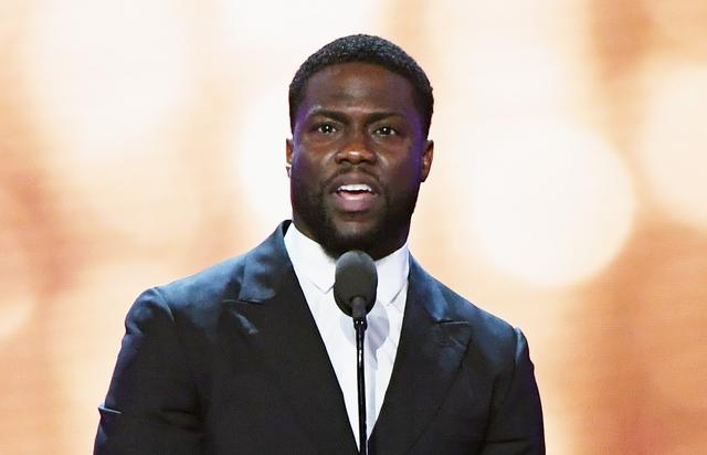 Actor Kevin Hart speaks onstage during the 22nd Annual Critics' Choice Awards at Barker Hangar on December 11, 2016 in Santa Monica, California