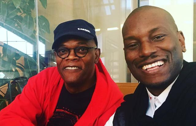 Samuel L Jackson and Tyrese
