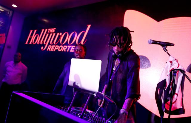 Wiz Khalifa The Hollywood Reporter 5th Annual Nominees Night - Inside