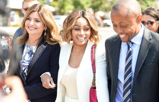 Blac Chyna Lisa Bloom Holds Pre-Court Hearing Press Conference With Her Client Blac Chyna