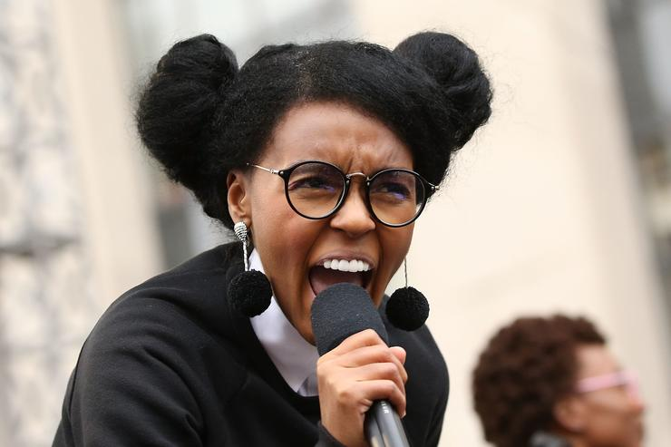 Watch Janelle Monae, Alicia Keys, Maxwell Perform At Women's March On Washington