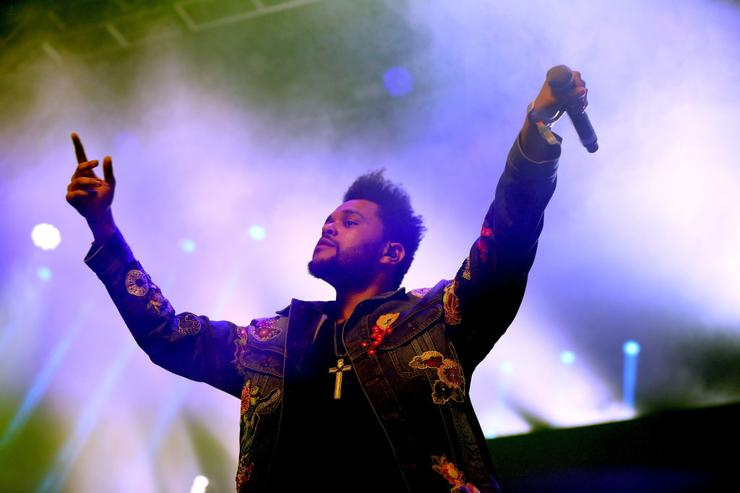 The Weeknd Teases His First Sneaker Collab With PUMA