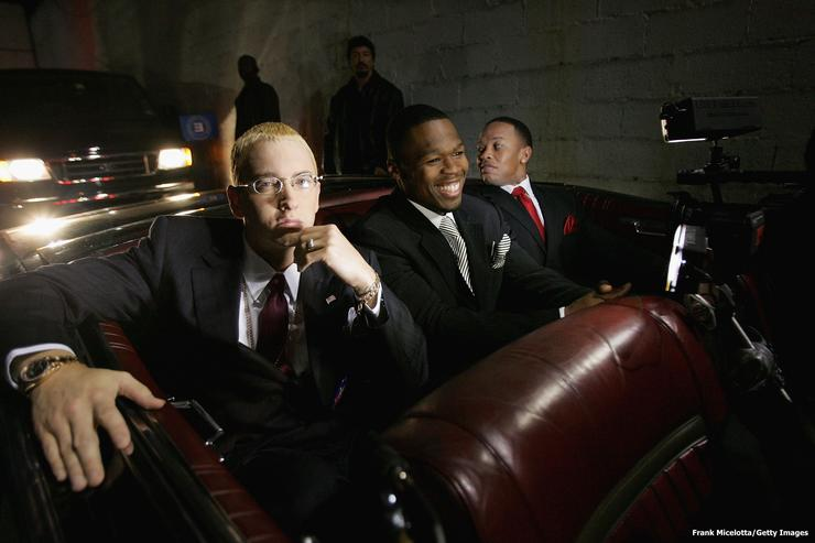 #TBT: Aftermath: Dr. Dre, Eminem, 50 Cent, & The Game