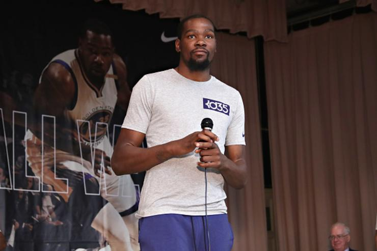 "Kevin Durant On Donald Trump: ""We Don't F*ck With Him"""